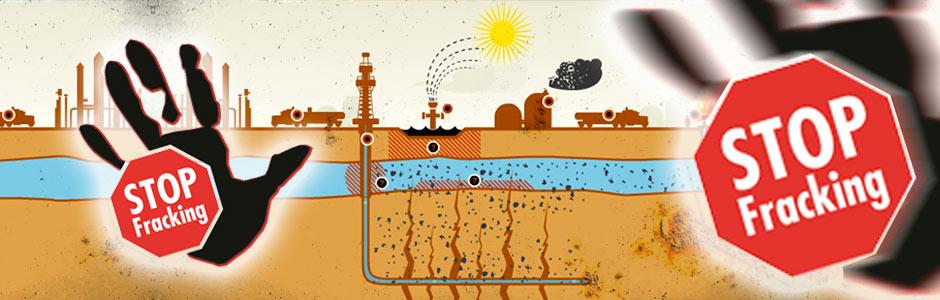 ¡Alto al Fracking!
